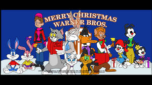 Merry Christmas from Warner Bros Animation by TomArmstrong20