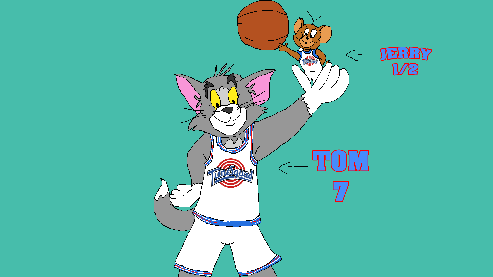 If Tom And Jerry Can Join Tune Squad For Space Jam By Tomarmstrong20 On Deviantart