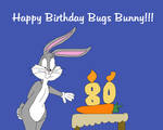 Happy 80th birthday to Bugs Bunny