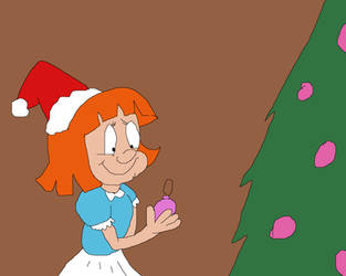 Elmyra Duff by the Tree by TomArmstrong20