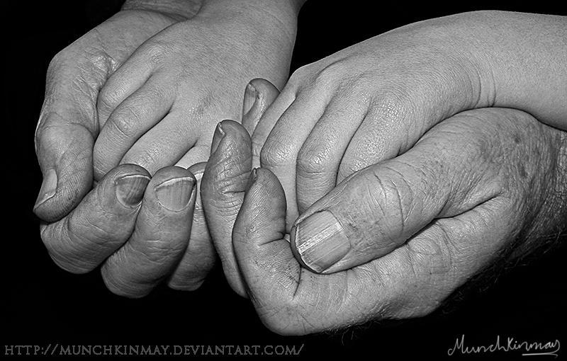 Grandad's hands