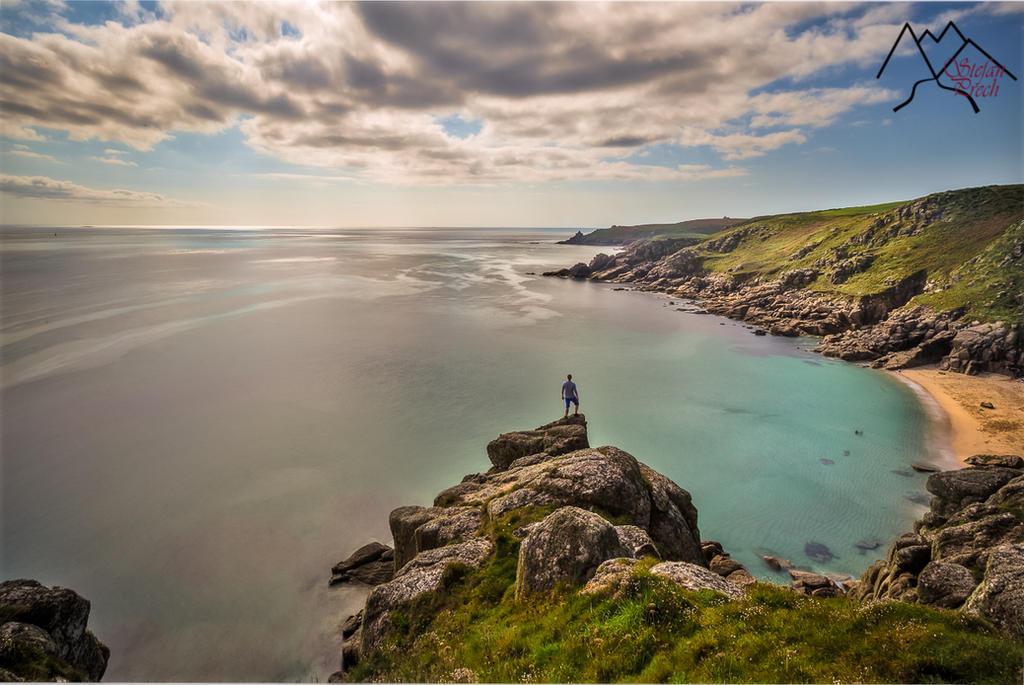 Selfie on Cornwall Coastline by StefanPrech