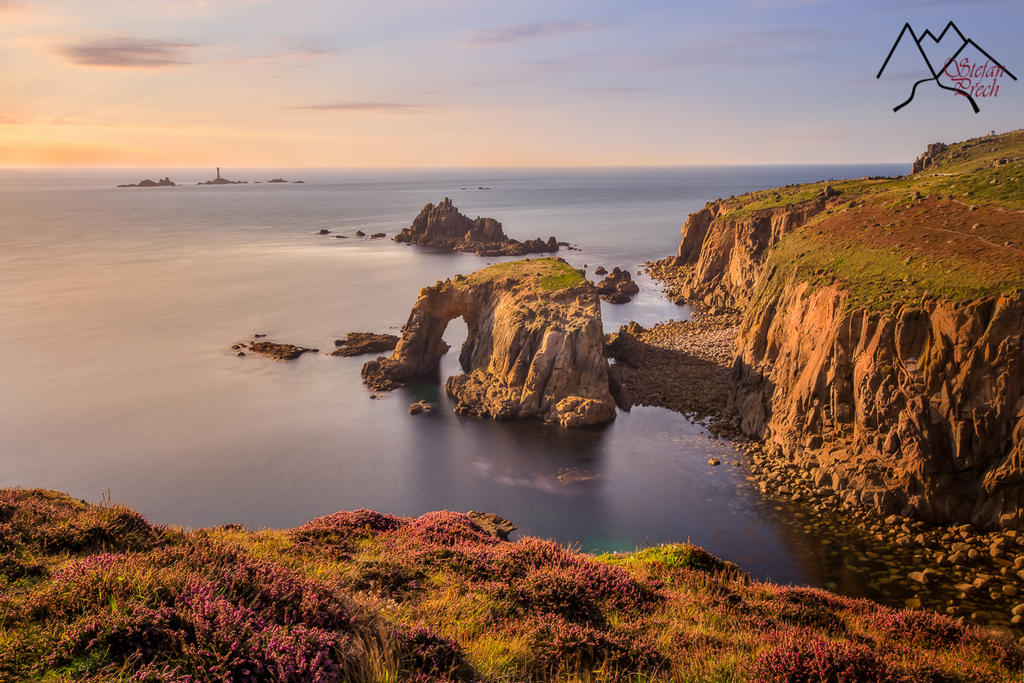 Lands end cornish coastline UK by StefanPrech