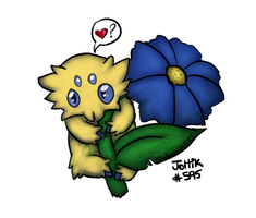Pokeddex Day7 Joltik by ShadowKira555