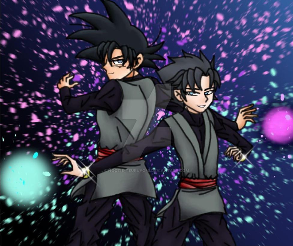 Updated Oc X Black Goku Rose 2 By Noctis Tsukuyomi On Deviantart