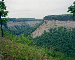 Letchworth Bend by Mooseushi