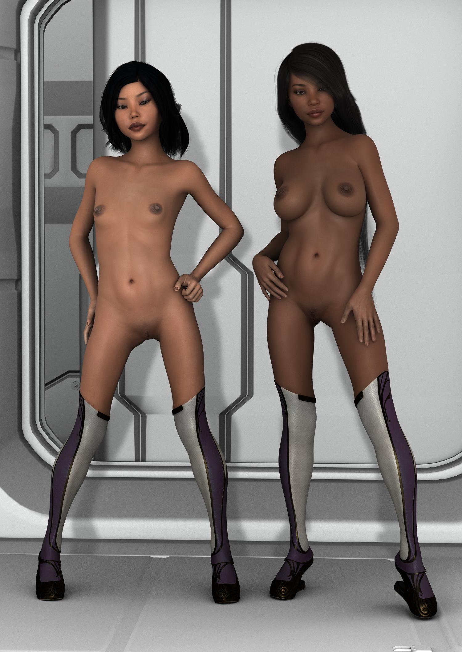 Nude Cgi Woman 34