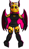 Demon Sarvente Toy Chica