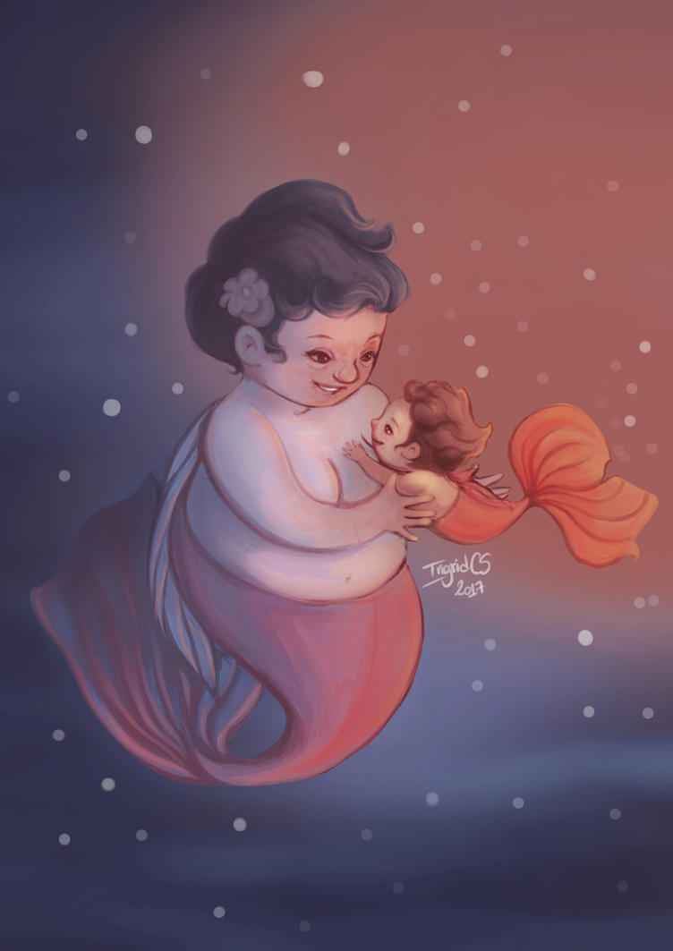 Mermay grandmother by GadyBICS