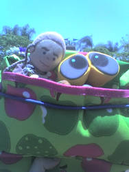 Wall-e, Chibi Obi-Wan outing