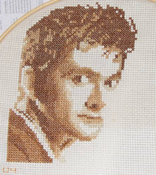 David Tennant Cross Stitch