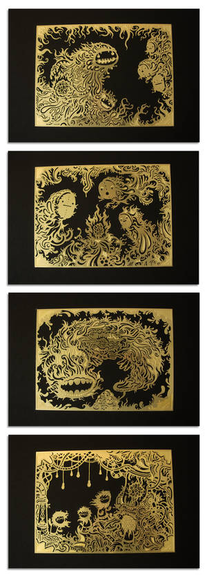 Acid Etched Brass Series