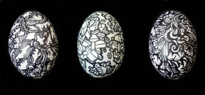 Illustrated Easter Eggs