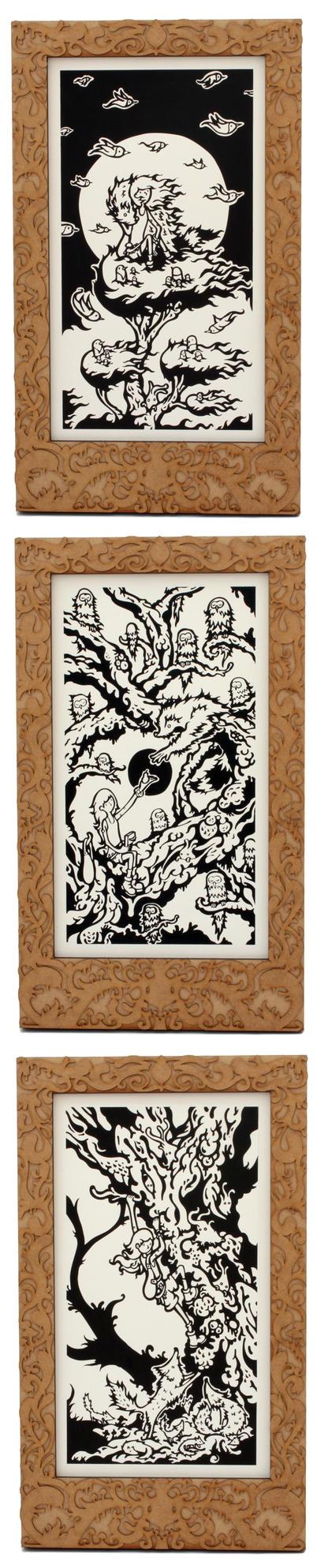 Journey up a Tree by mtomsky