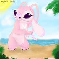 Shy little Angel by AcesGrace96