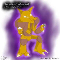 Alakazam's Oh crap moment by AcesGrace96