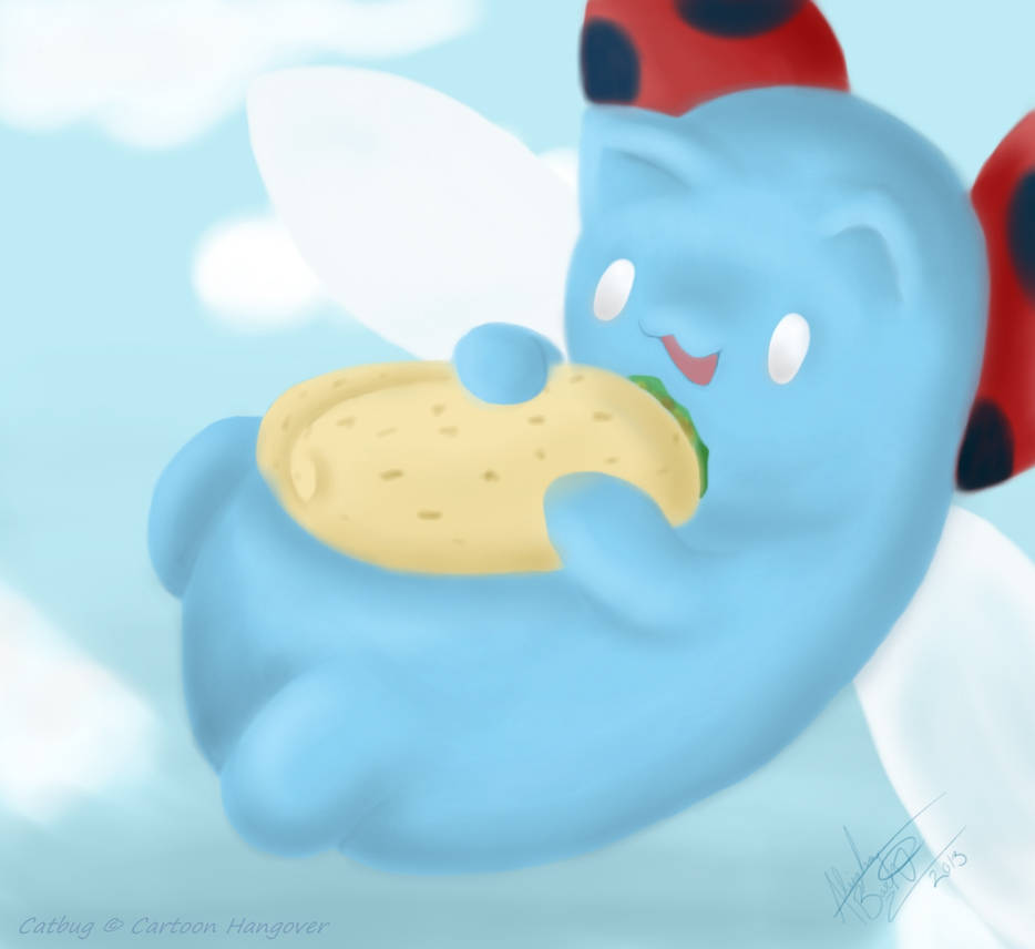 Catbug has a Soft of the Taco Kind! by AcesGrace96