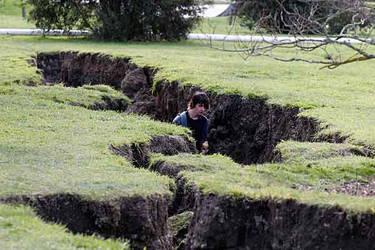 ChCh Earthquake - Kiapoi Holes