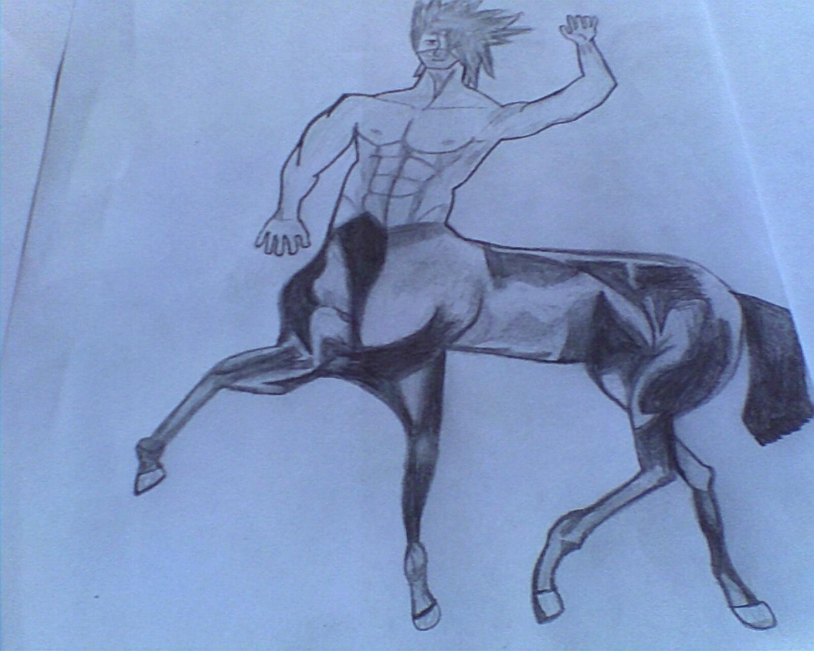 Kakashi Half Horse, Half Human by MssesAnimeMania on DeviantArt