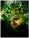 die under mask by batetooz