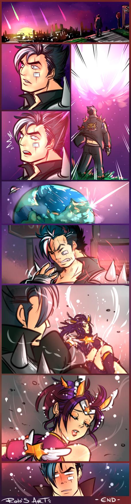 Star guardian Quinn by Rolochan