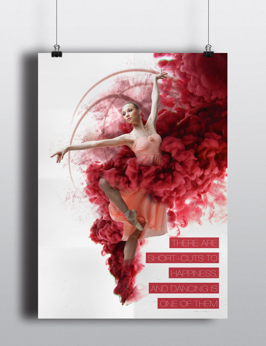ballet poster by raw-truth on DeviantArt: raw-truth.deviantart.com/art/ballet-poster-414179251