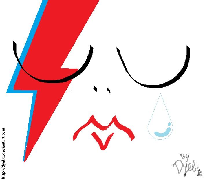 R.I.P. David Bowie by Dyel75