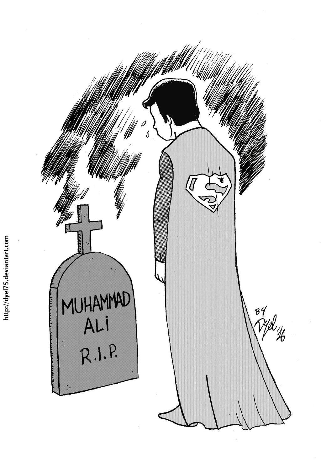 R.I.P. Muhammad Ali by Dyel75