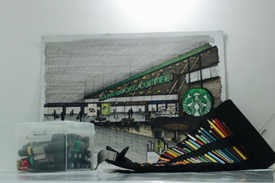 Starbucks by arkihannah