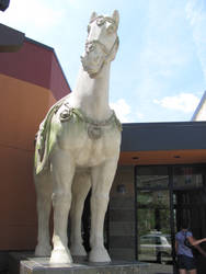 Horse Statue 2 by Nightmare247Stock