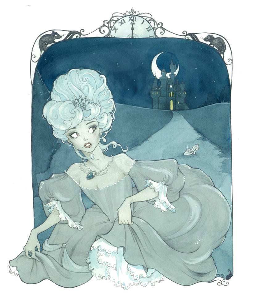 Cinderella by Maryanneleslie