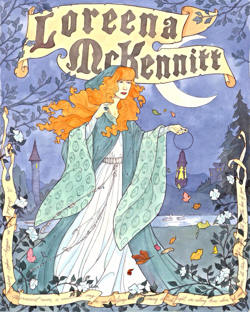 Loreena McKennitt by Maryanneleslie
