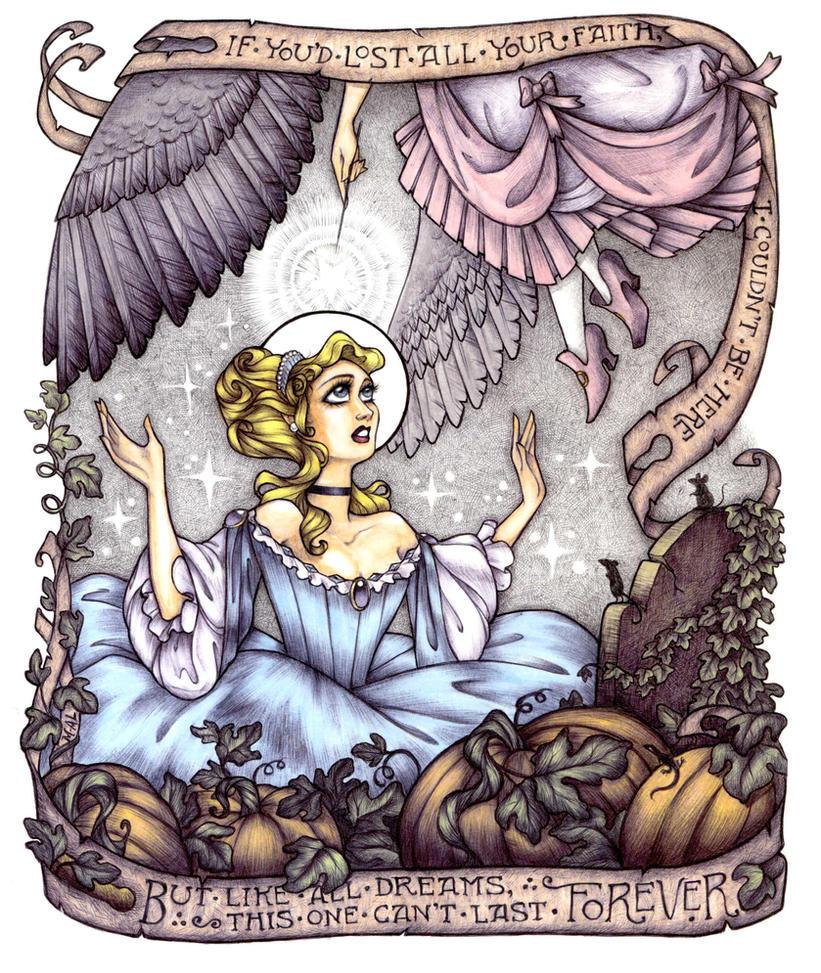 The Annunciation of Cinderella by Maryanneleslie
