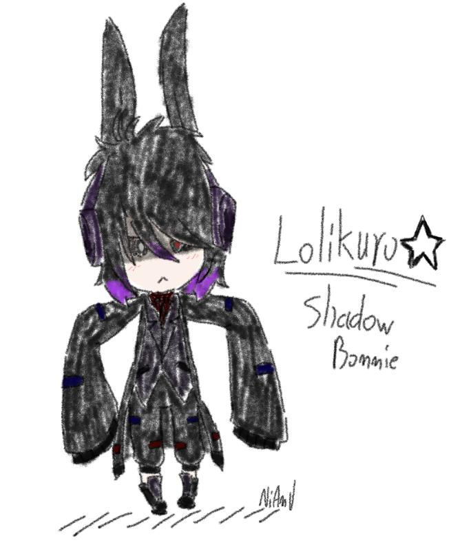 [Lolikuro] Shadow Bonnie By NiAnUu94 On DeviantArt