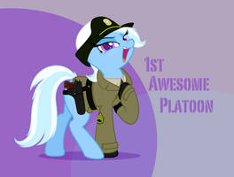 US Army - SSG. Trixie by FirstAwesomePlatoon