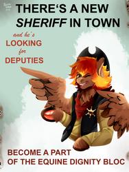New Sheriff by IBrainWashedYou