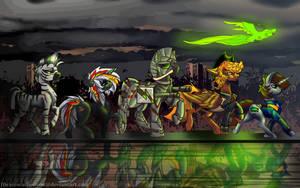 Fallout equestria group by IBrainWashedYou