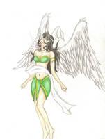 Angelic Kagome by KitDesertOfFate27