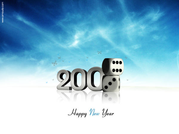 HAPPY new YEAR -2009