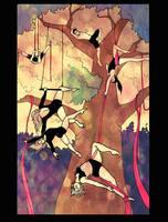L'arbre aux acrobates by Endless-Ness