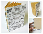 Handmade Sketchbook - Butterflies and Moths