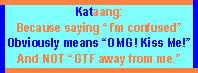 'Kataang' Stamp by paintedbluerose