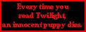 Twilight Kills by paintedbluerose
