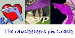 Musketeers of Crack by paintedbluerose