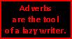 Adverbs Stamp 01 by paintedbluerose
