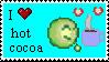I :heart: hot cocoa by paintedbluerose