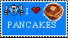 I :heart: Pancakes by paintedbluerose