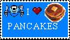 I :heart: Pancakes by paintedbluerose