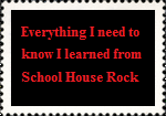 SchoolHouseRock Stamp by paintedbluerose