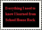 SchoolHouseRock Stamp by paintedbluerose
